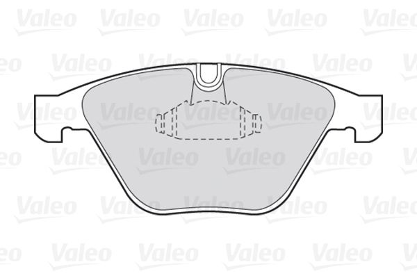 Bremsbelagsatz VALEO 301410