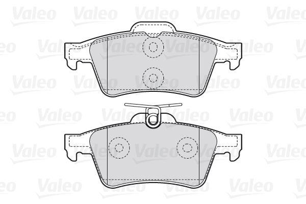 301783 Bremssteine VALEO in Original Qualität