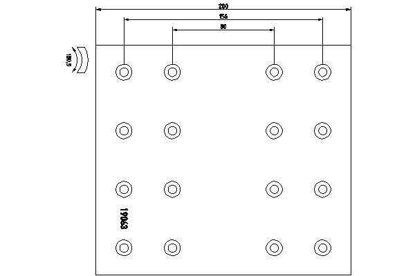 TEXTAR Bremsbelagsatz, Trommelbremse für DAF - Artikelnummer: 1906303