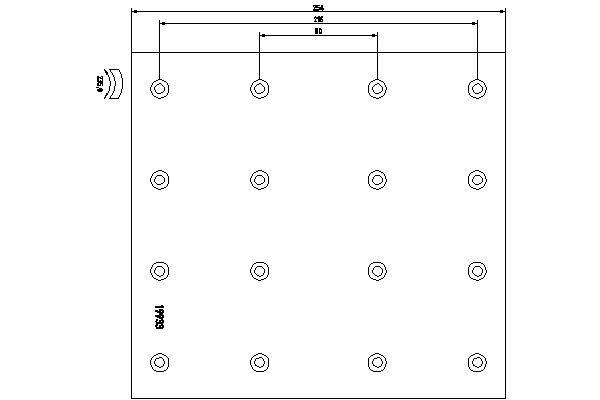 1993301 TEXTAR Bremsbelagsatz, Trommelbremse für DENNIS online bestellen