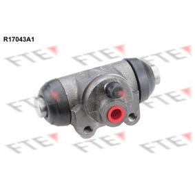 R17043A1 FTE Bohrung-Ø: 17,46mm Radbremszylinder R17043A1 günstig kaufen