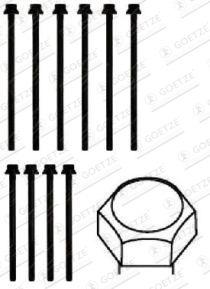 Topplocksbultar 22-29022B GOETZE — bara nya delar