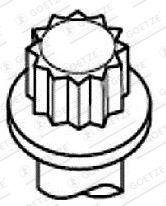 Topplocksbultar 22-79005B GOETZE — bara nya delar