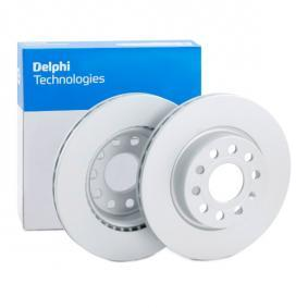 BG3832C DELPHI ventilado, revestido Ø: 280mm, Núm. orificios: 5, Espesor disco freno: 22mm Disco de freno BG3832C a buen precio