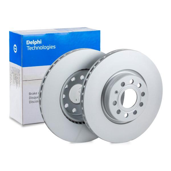 BG3953C DELPHI ventilado, revestido, sin procesar Ø: 312mm, Espesor disco freno: 25mm Disco de freno BG3953C a buen precio