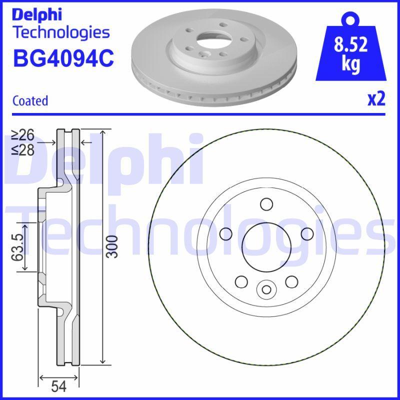 Buy original Brakes DELPHI BG4094C