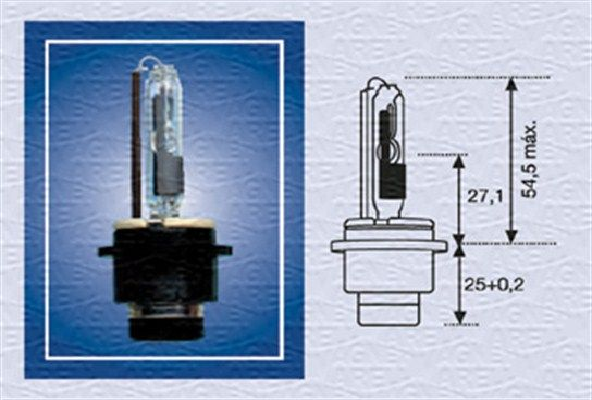 D2R MAGNETI MARELLI 35W, 85V, D2R (Gasentladungslampe) Glühlampe, Fernscheinwerfer 002542100000 günstig kaufen