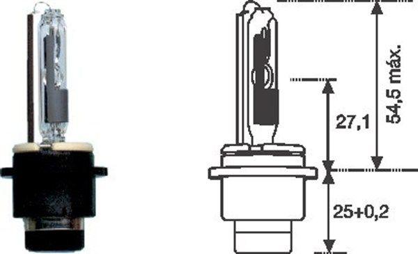 MAGNETI MARELLI | Glühlampe, Fernscheinwerfer 002542100000