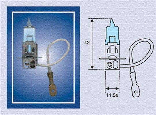 Lampada fendinebbia 002604100000 MAGNETI MARELLI — Solo ricambi nuovi