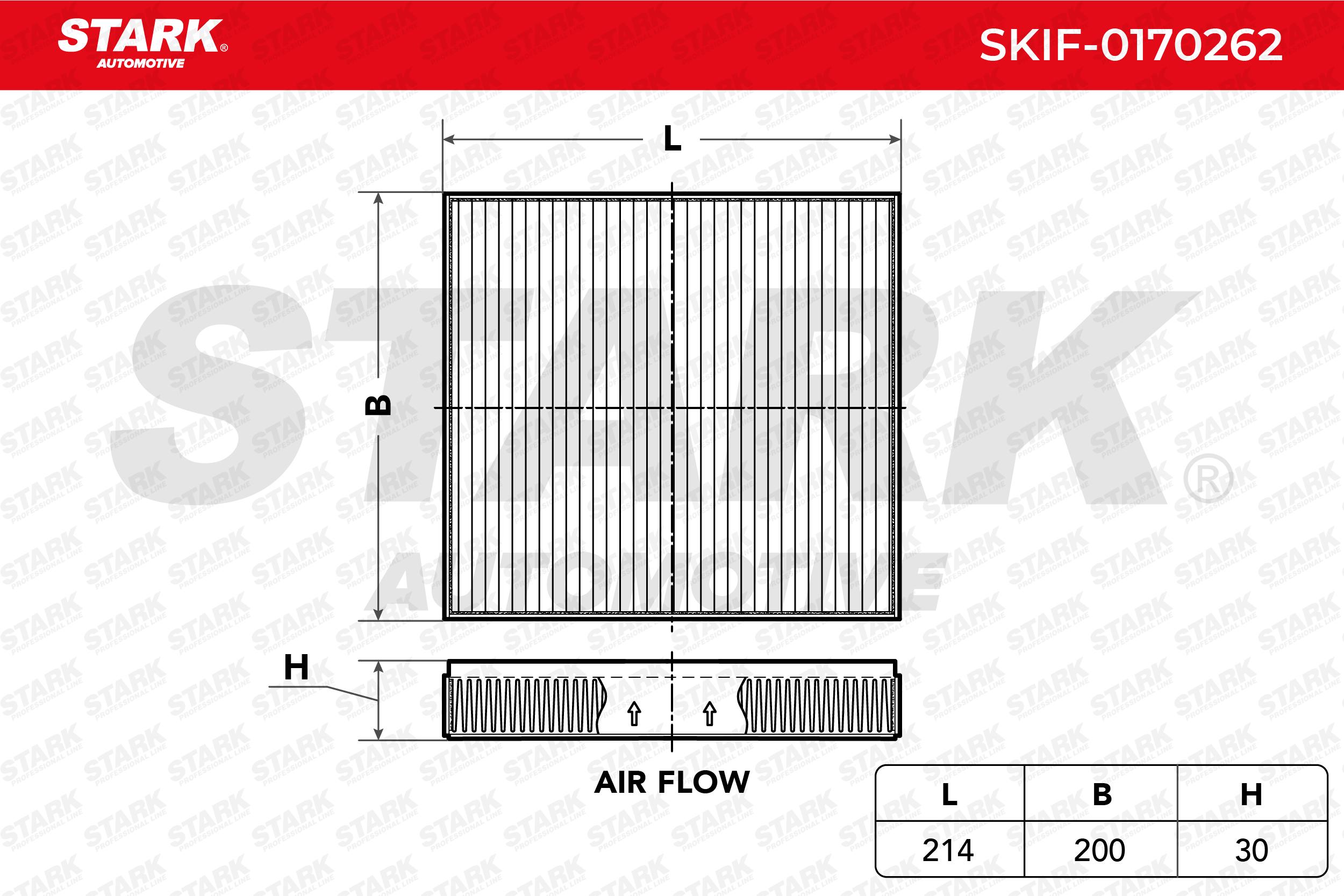 Alfa Romeo SPIDER 2002 Heater STARK SKIF-0170262: Particulate Filter