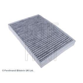 ADJ132508 BLUE PRINT Aktivkohlefilter Breite: 195,0mm, Höhe: 32mm, Länge: 275mm Filter, Innenraumluft ADJ132508 günstig kaufen
