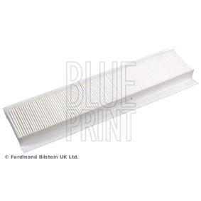 ADJ132517 BLUE PRINT Pollenfilter Breite: 98,0mm, Höhe: 35mm, Länge: 509mm Filter, Innenraumluft ADJ132517 günstig kaufen