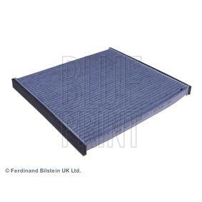 ADT32535 BLUE PRINT Aktivkohlefilter Breite: 197,0mm, Höhe: 18mm, Länge: 218,5mm Filter, Innenraumluft ADT32535 günstig kaufen