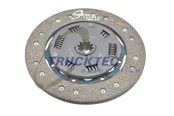 Clutch disc 02.23.101 TRUCKTEC AUTOMOTIVE — only new parts