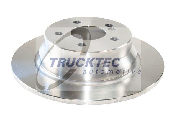 02.35.093 TRUCKTEC AUTOMOTIVE Hinterachse, Voll Ø: 300mm, Lochanzahl: 5, Bremsscheibendicke: 10mm Bremsscheibe 02.35.093 günstig kaufen