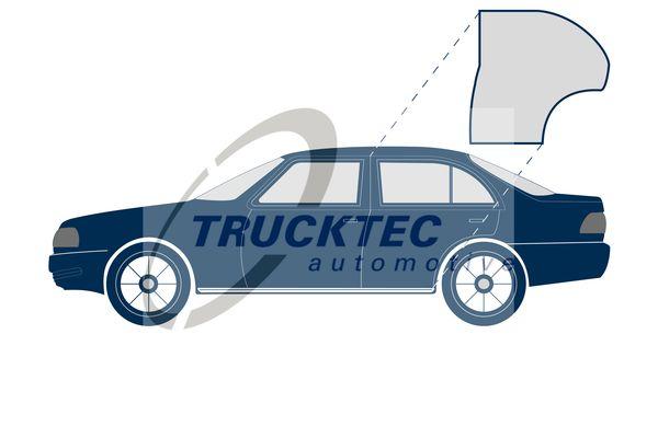Rubber door seal 02.53.039 TRUCKTEC AUTOMOTIVE — only new parts