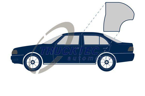 Mercedes C-Class 1995 Rubber door seal TRUCKTEC AUTOMOTIVE 02.53.078:
