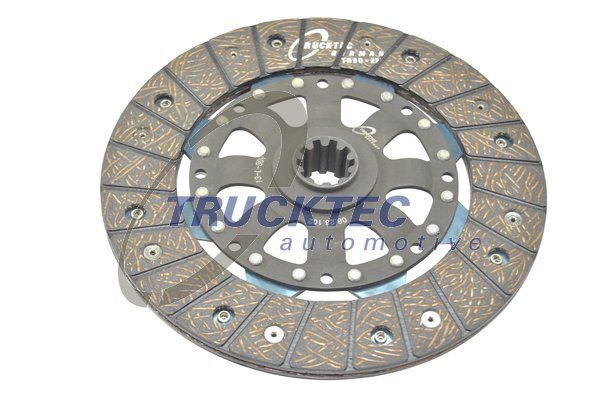 Clutch disc 08.23.102 TRUCKTEC AUTOMOTIVE — only new parts
