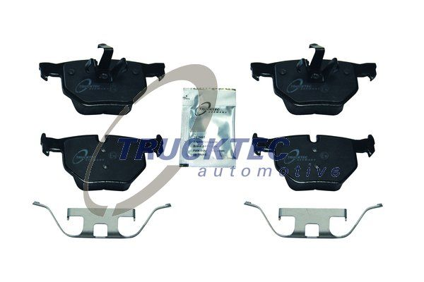 Brake pad set disc brake 08.35.041 TRUCKTEC AUTOMOTIVE — only new parts
