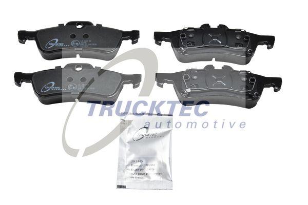 08.35.127 TRUCKTEC AUTOMOTIVE Hinterachse Bremsbelagsatz, Scheibenbremse 08.35.127 günstig kaufen