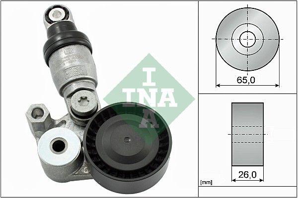 MAZDA CX-9 2016 Riemen, Ketten, Rollen - Original INA 533 0129 10 Ø: 65,00mm, Breite: 26,00mm