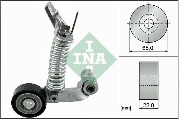 INA: Original Riemenspanner, Keilrippenriemen 534 0574 10 (Ø: 65,00mm, Breite: 22,00mm)
