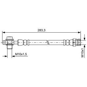 BH1620 BOSCH Length: 255mm, Inner Thread: M10x1mm Brake Hose 1 987 481 736 cheap