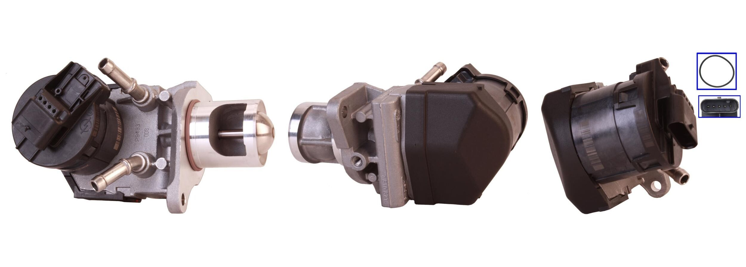 73-0066 ELSTOCK elektrisch, mit Dichtungen Anschlussanzahl: 5 AGR-Ventil 73-0066 günstig kaufen