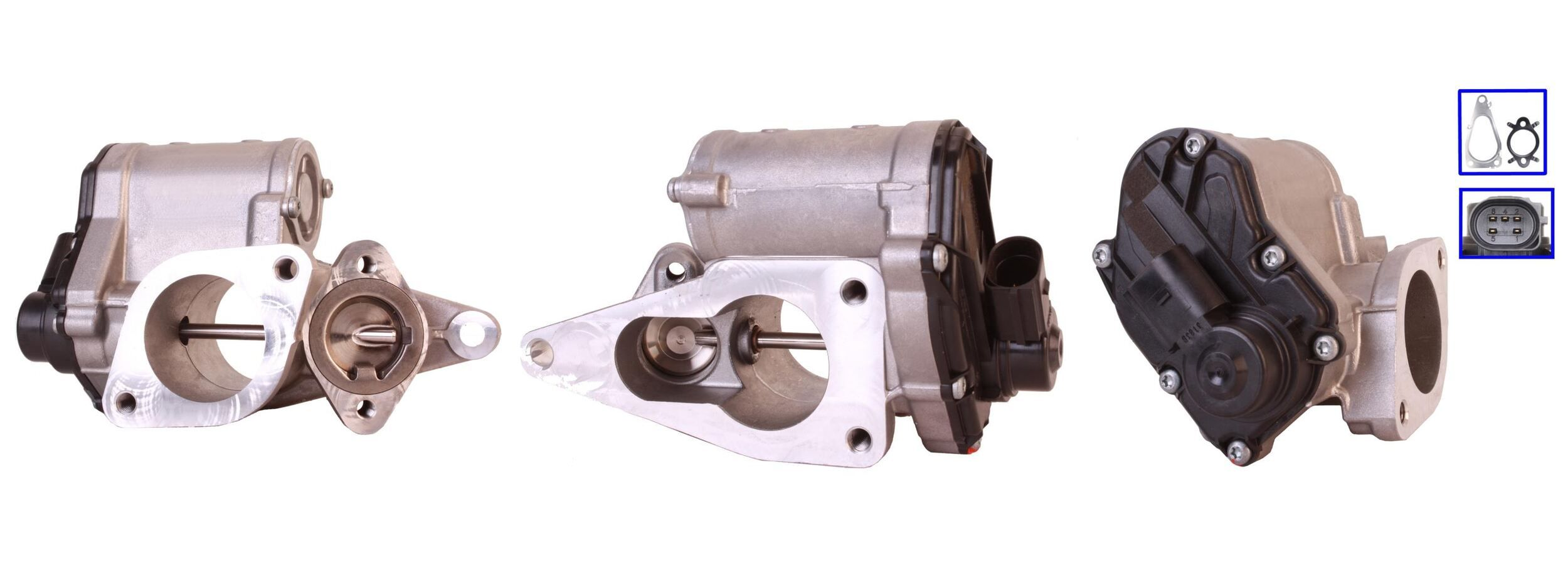 73-0069 ELSTOCK elektrisch, mit Dichtungen Anschlussanzahl: 5 AGR-Ventil 73-0069 günstig kaufen