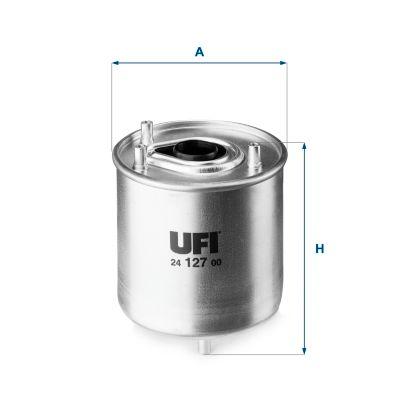 24.127.00 Kraftstofffilter UFI Test