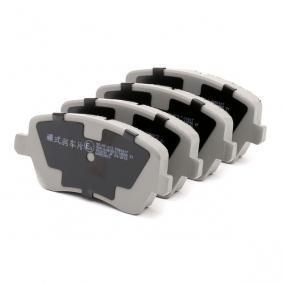 5000013 Bremsbelagsatz, Scheibenbremse ASHIKA 50-00-013 - Große Auswahl - stark reduziert