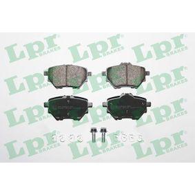 5SP1838 LPR mit Schrauben Höhe 1: 50mm, Höhe 2: 53,4mm, Breite: 98,9mm, Dicke/Stärke: 17,5mm Bremsbelagsatz, Scheibenbremse 05P1838 günstig kaufen