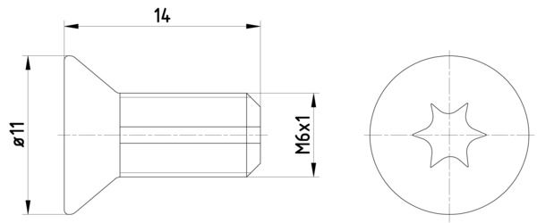 TEXTAR: Original Schraube, Bremsscheibe TPM0012 ()