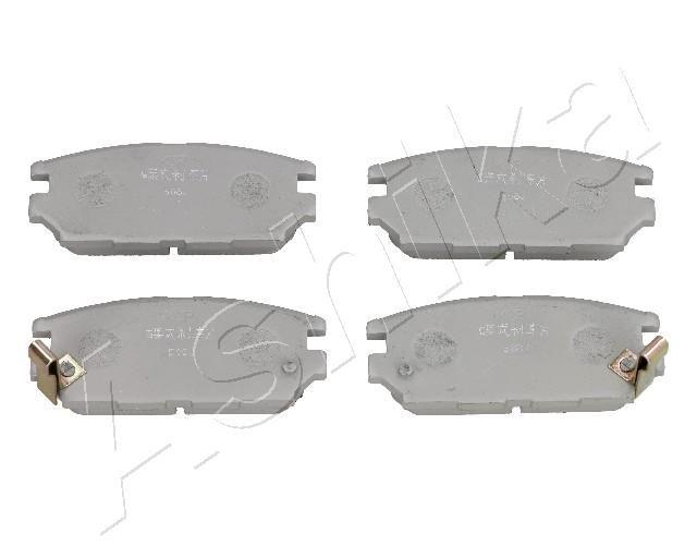 51-05-510 ASHIKA Hinterachse Höhe: 46,3mm, Dicke/Stärke: 14,9mm Bremsbelagsatz, Scheibenbremse 51-05-510 günstig kaufen
