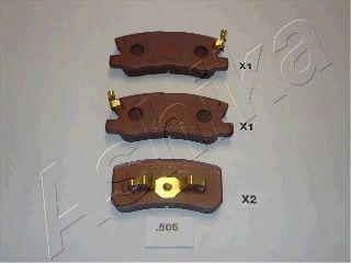 Acheter Garnitures de freins de haute performance ASHIKA 51-05-505P à tout moment