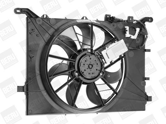 Radiatoriaus ventiliatorius LE754 BERU — tik naujos dalys