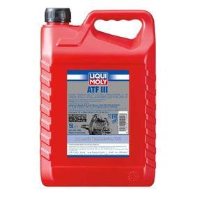 Купете VoithG607 LIQUI MOLY ATF III Синтетично масло, съдържание: 5литър Allison C4, Dexron III G, Ford Mercon, Voith H55.6335.XX Трансмисионно масло 1056 евтино