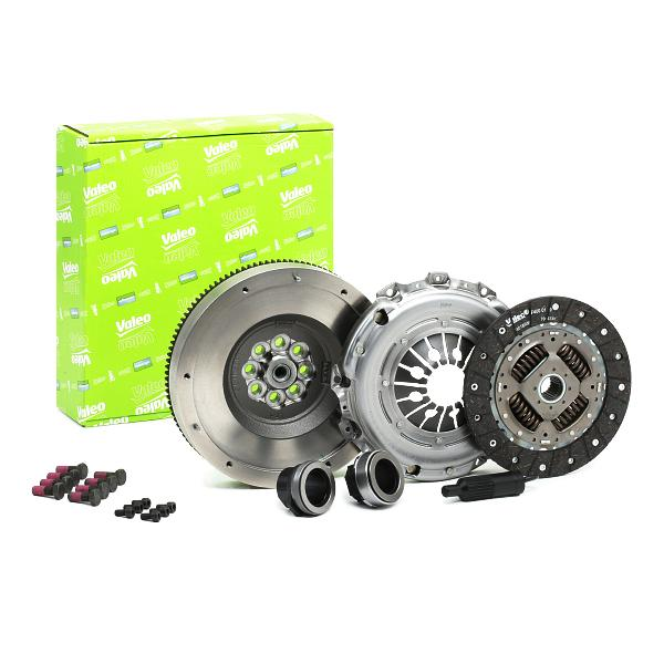 BMW 3 Series 2017 Clutch set VALEO 835167: Conversion from dual-mass flywheel to single-mass flywheel, with clutch pressure plate, with clutch plate, with clutch release bearing, with flywheel