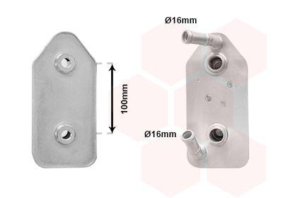 Getriebeölkühler VAN WEZEL 03003356