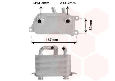 Original BMW Getriebeölkühler 06003401