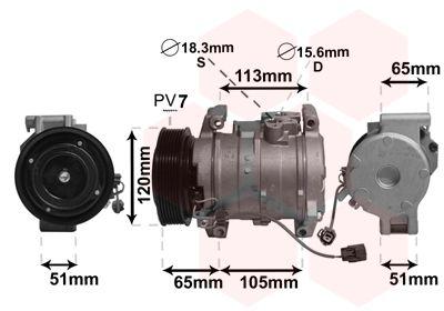 Original HONDA Kompressor 2500K289