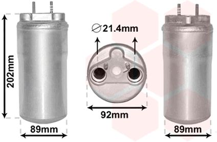 Trockner Klimaanlage VAN WEZEL 4300D556