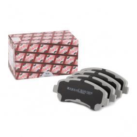 50-01-123 ASHIKA Vorderachse Höhe: 59mm, Dicke/Stärke: 17mm Bremsbelagsatz, Scheibenbremse 50-01-123 günstig kaufen