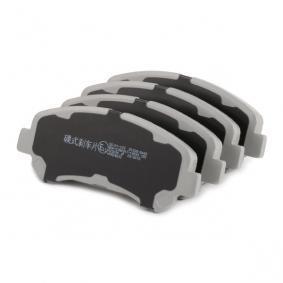 5001123 Bremsbelagsatz, Scheibenbremse ASHIKA 50-01-123 - Große Auswahl - stark reduziert