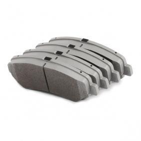 50-01-123 Bremsbelagsatz, Scheibenbremse ASHIKA - Markenprodukte billig