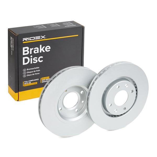 82B0022 RIDEX Bremsscheibe Bewertung