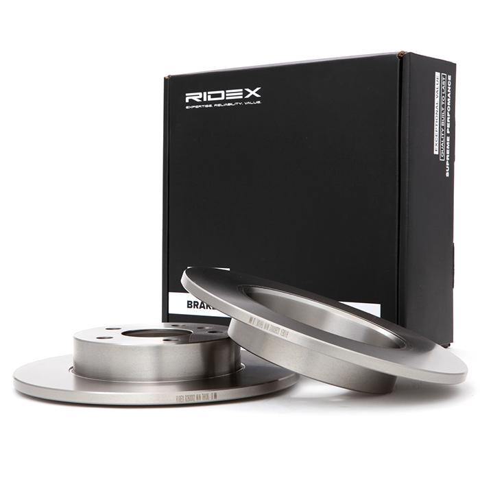 Disco de freno 82B0002 RIDEX — Solo piezas de recambio nuevas