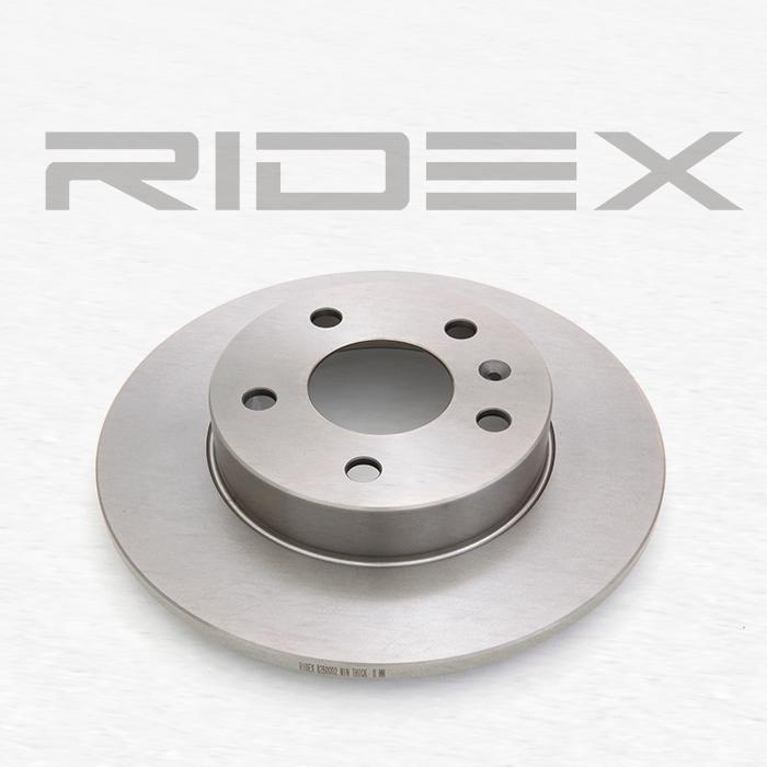 82B0002 Bremsscheibe RIDEX in Original Qualität