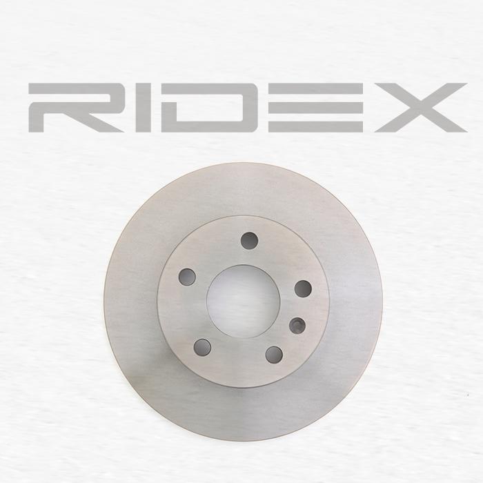 82B0002 Bremsscheibe RIDEX Test