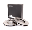 Brake discs and rotors 82B0006 with an exceptional RIDEX price-performance ratio